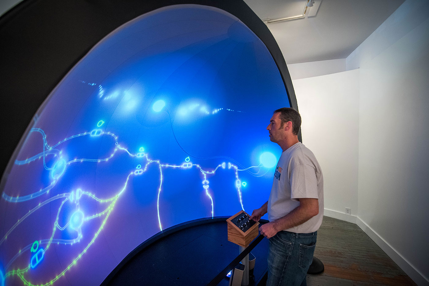 Immersive Dome Exhibit