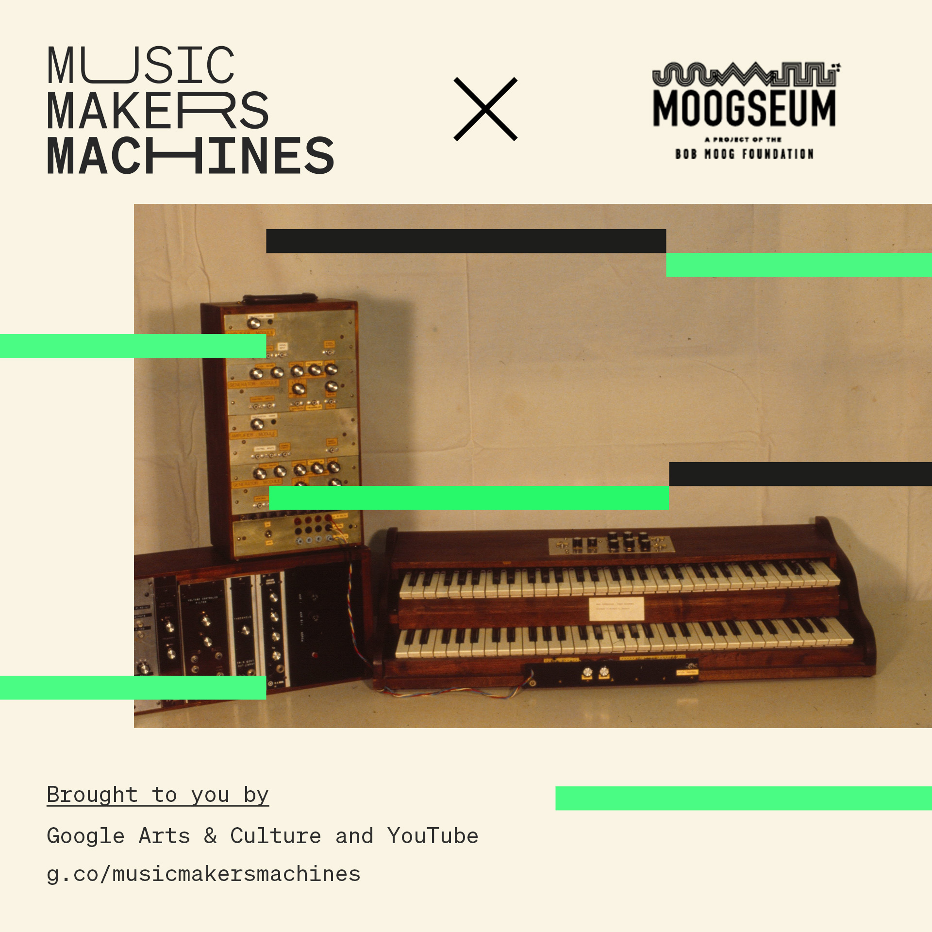 Moogseum Announces Exhibits as Part of Google Arts and Culture Exhibition