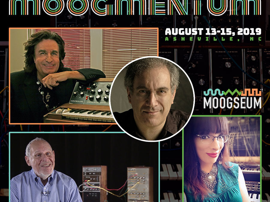 "Announcing ""Moogmentum"" Grand Opening Celebration of the Moogseum"