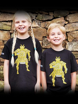 Kids SaMOOGurai t-shirt